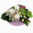 Christmas composition with Anthuria , roses and Wild Orchis  - XMAS 44007