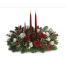 Christmas composition with roses and ilex- XMAS 44003