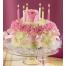 Flower Cake - BDAY 15009