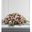 Flower arrangements for condolences with roses and gerberas -COND 39053