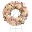 Στεφάνι Κηδείας με Τριαντάφυλλα και Χρυσάνθεμα  - COND 39055