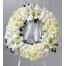 Wreath with roses, lilies and chrysanthemums - COND 39053