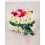 Cake from Mix Flowers