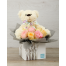 Roses with Teddybear in holder